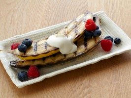 Grilled Banana Recipe