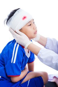 boy in bandage -508126582