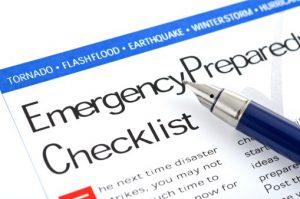 emergency checklist-155667998