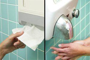 hand-drying
