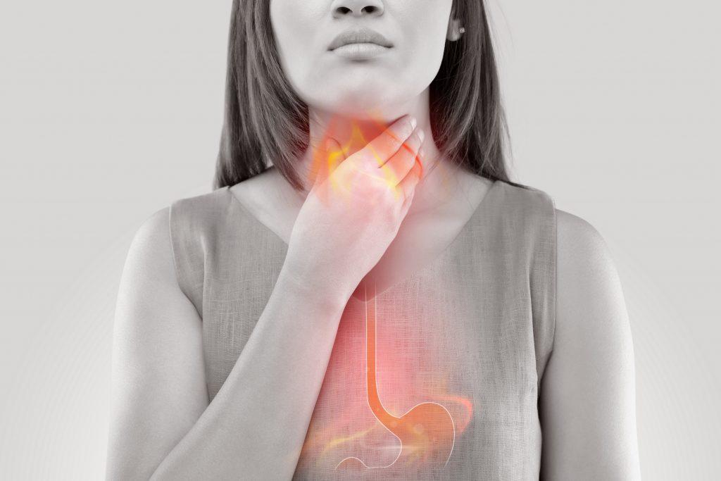 Symptoms of heartburn