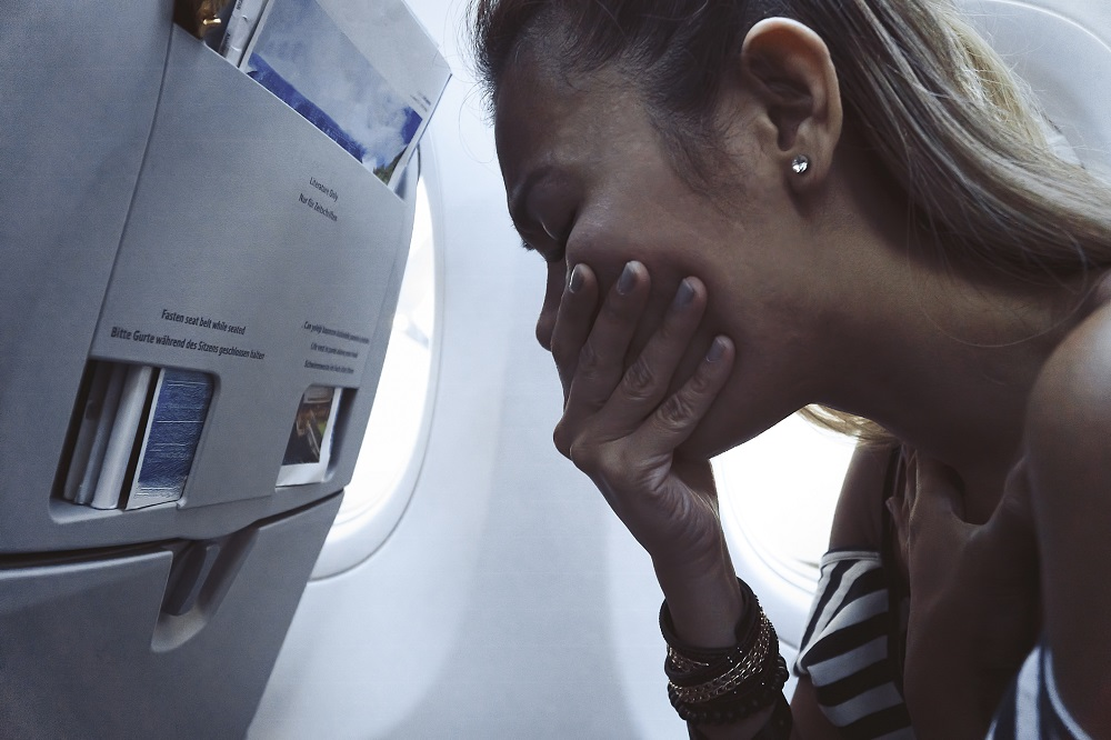 Tips to prevent getting sick on a plane