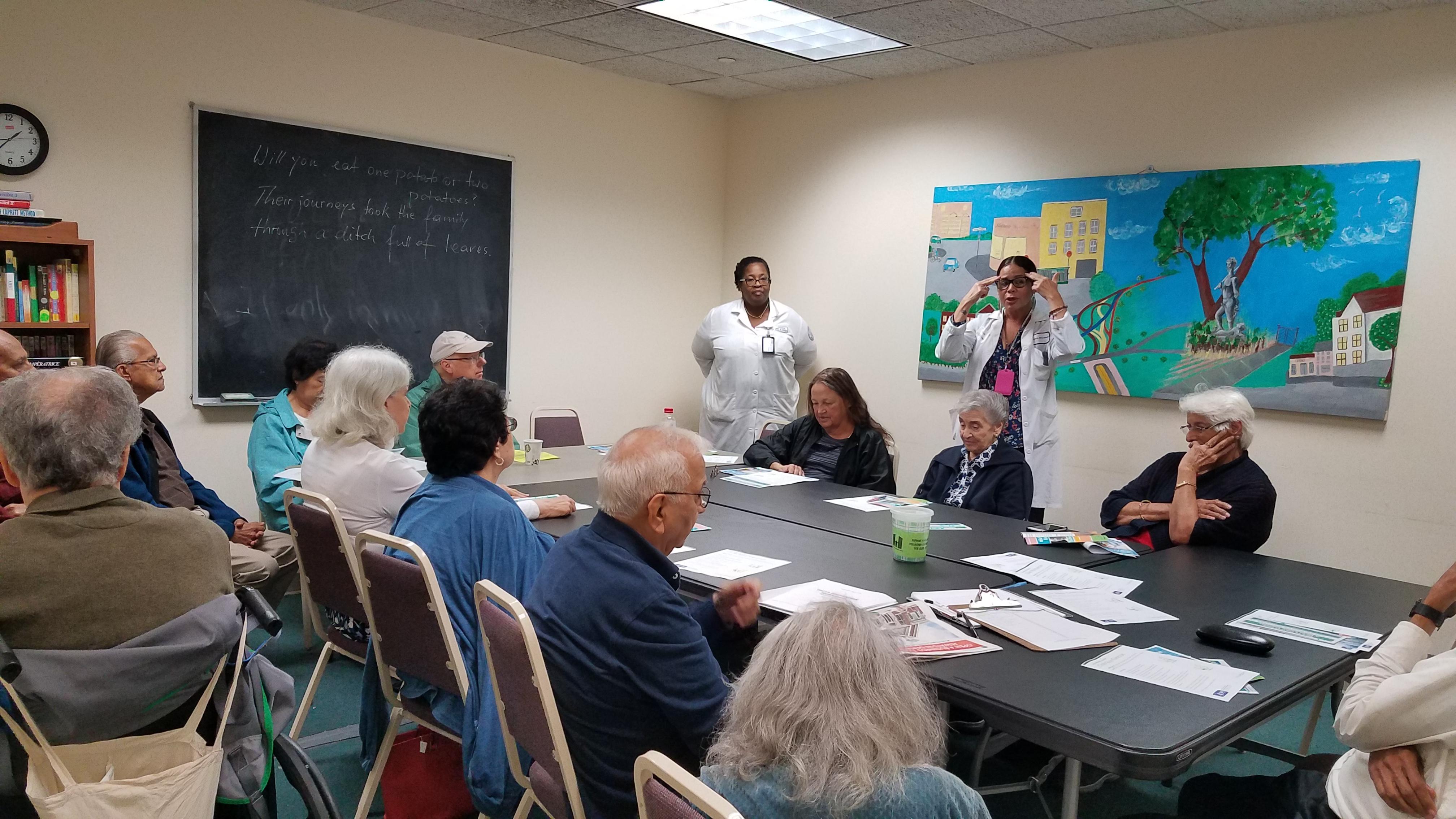 Kew gardens community center falls prevention workshop - Doctors medical center miami gardens ...