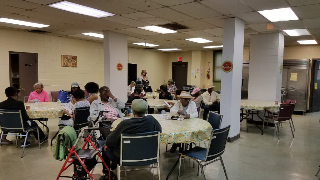 Friendship Senior Center Falls Prevention Workshop