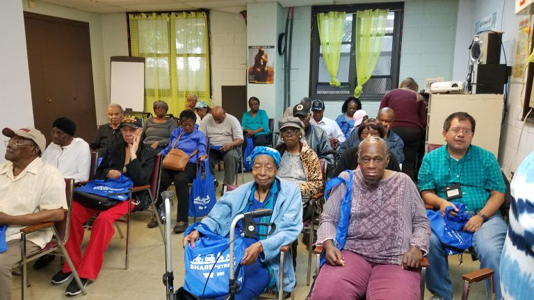 Friendship Senior Center Pedestrian Safety Workshop
