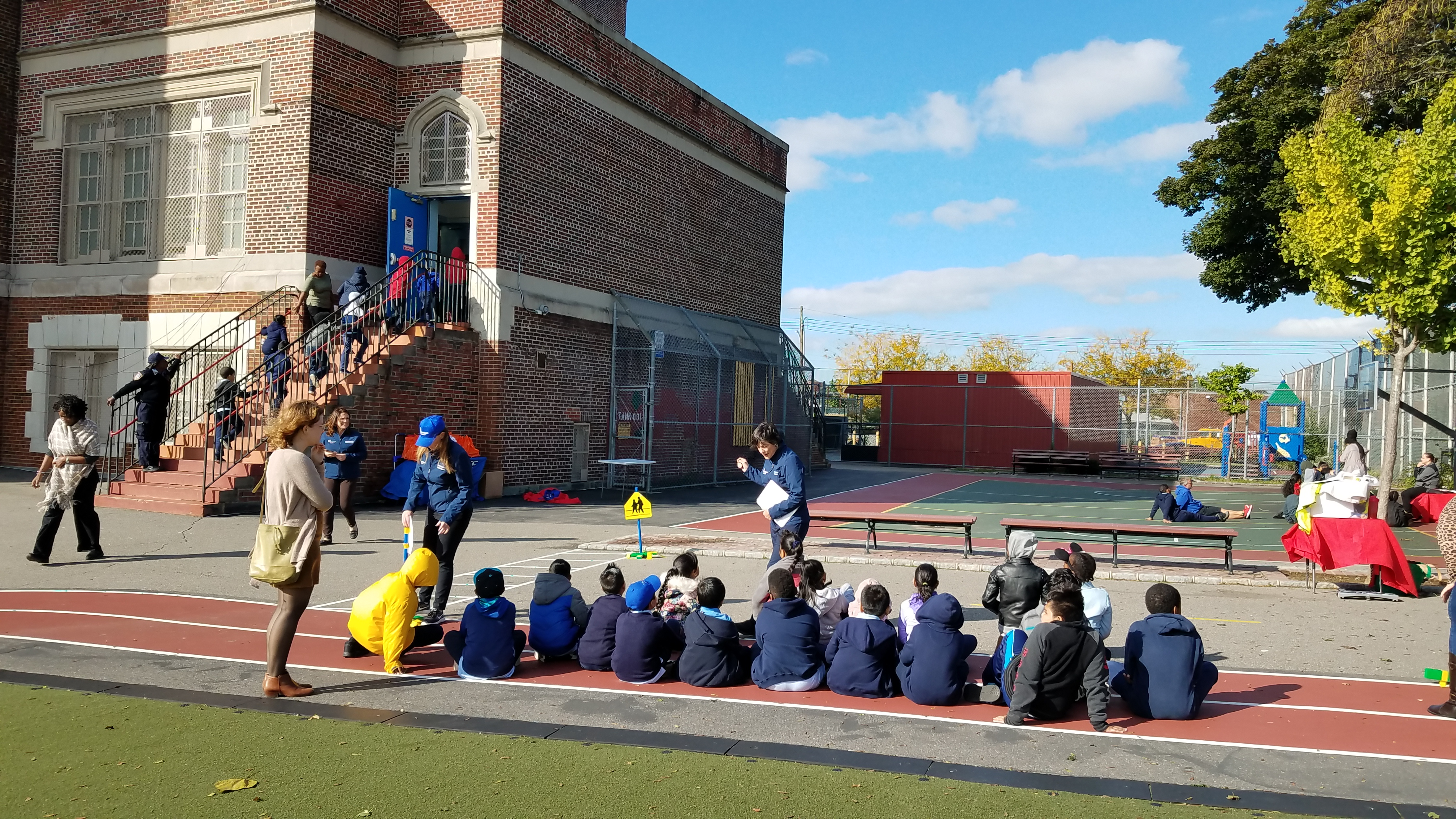 Queens Safe Kids Coalition - Walk This Way Event at P.S. 96